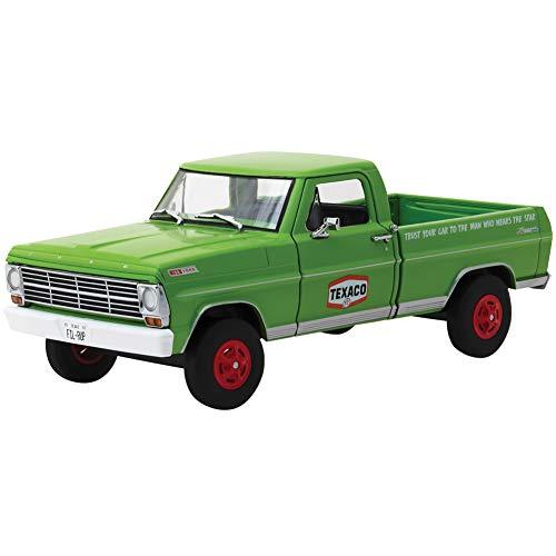 DIECAST 1:24 W/B - Running ON Empty Series 1-1967 Ford F-100 TEXACO Motor Oil (Green) 85012 by Greenlight