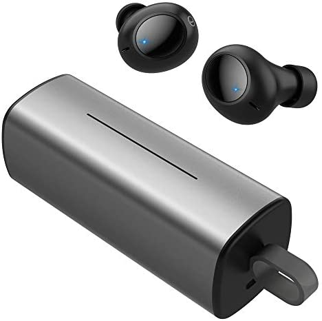 Wireless Earbuds, MiiKARE True Wireless Bluetooth Earbuds Bluetooth 4.2 Earphones Deep Bass Stereo Sound, Built-in Microphone Noise Isolation Sweatproof in-Ear Headphones with Charging Case