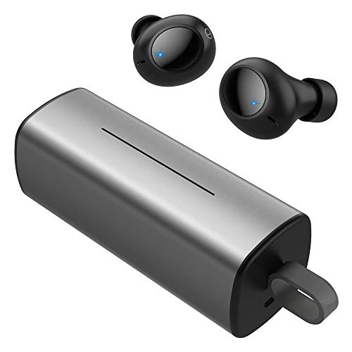 - Wireless Earbuds MiiKARE Bluetooth Headphones Earphones with Aluminium Charging Case 3D Stereo Sound Deep Bass TWS with Built-in Microphone Noise Isolation Sweatproof in-Ear Soundbuds for iOS Android