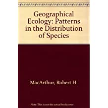 Geographical Ecology: Patterns in the Distribution of Species