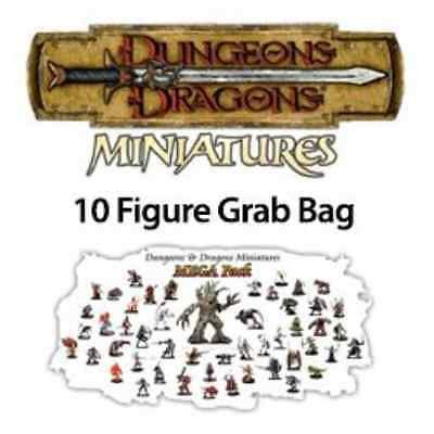 10 Assorted D&D Dungeons and Dragons Miniatures Figures (D&d Dragon)