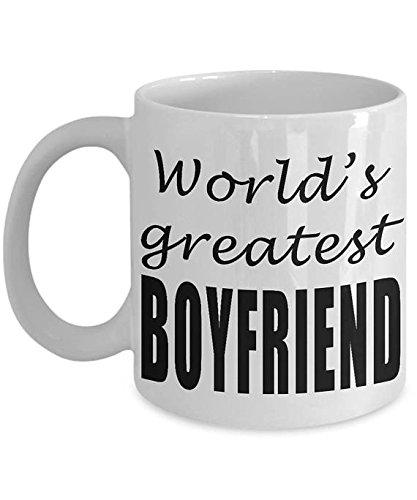World's greatest boyfriend Mug - Valentine mug for him-Worlds best boyfriend - wedding gift - Valentine's Day gift for boyfriend from girlfriend- 11oz 15oz