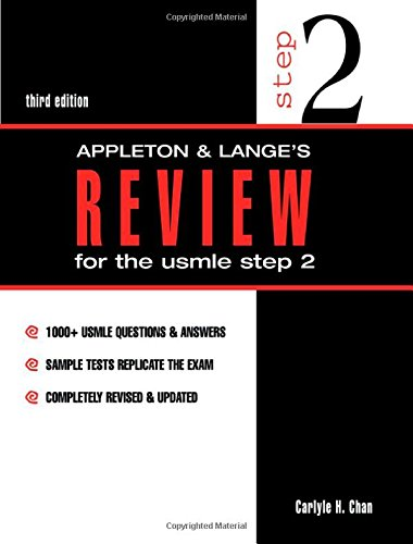 Appleton & Lange's Review for the USMLE Step 2