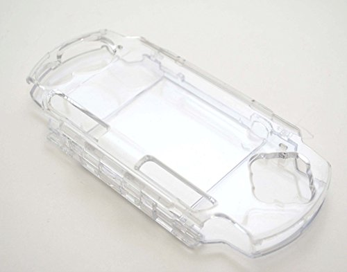 Hard Clear Crystal Case Cover Shell Protector Protective Shell for Sony PSP 2000 3000 Game Console (Psp 3000 Crystal)