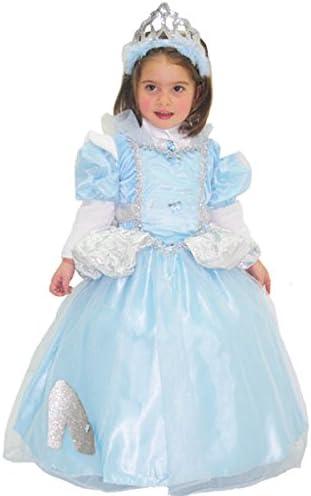 Disfraz de Carnaval Cenicienta 4ANNI azul celeste: Amazon.es: Bebé