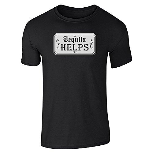 Helps Black L Short Sleeve T-Shirt ()