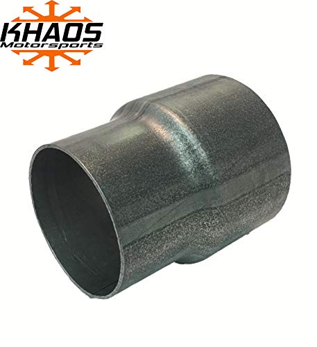Khaos Motorsports Exhaust Reducer Pipe Adaptor 2-1/2