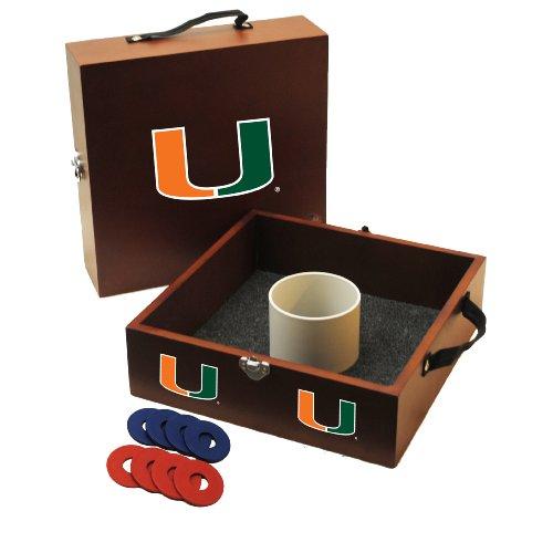 (Wild Sports NCAA College Miami Hurricanes Washer Toss)