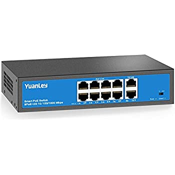 Amazon Com Anvision 10 Port 250m Extend Ethernet Switch