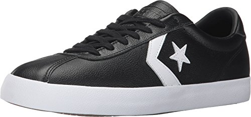 Converse Men Breakpoint One Star Leather Sneakers (12 D(M) US, Black/White/Black) -