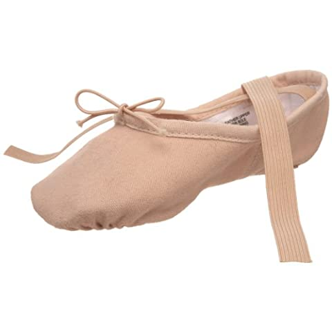 Bloch Dance Pump Ballet Flat (Toddler/Little Kid),Pink,13 A US Little Kid