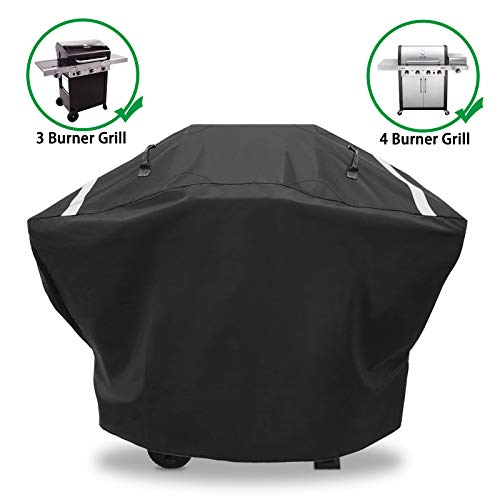 Hisencn Gas Grill Cover for Charbroil 3-4 Burner, 62 Inches Heavy Duty Waterproof BBQ Barbecue Cover for Charbroil Classic 360 463773717, Advantage 463343015, 463344015, Performance 463347017