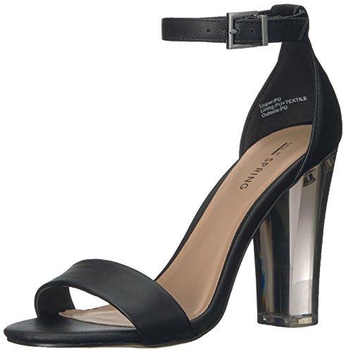 Call It Spring Womens Capraia Dress Sandal Black Synthetic 7iRQBb
