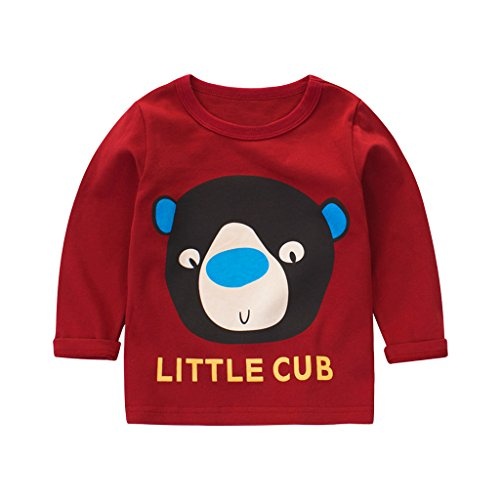 Unisex Baby Kids Organic Cotton Round Ne - Red Classic Windshirt Shopping Results