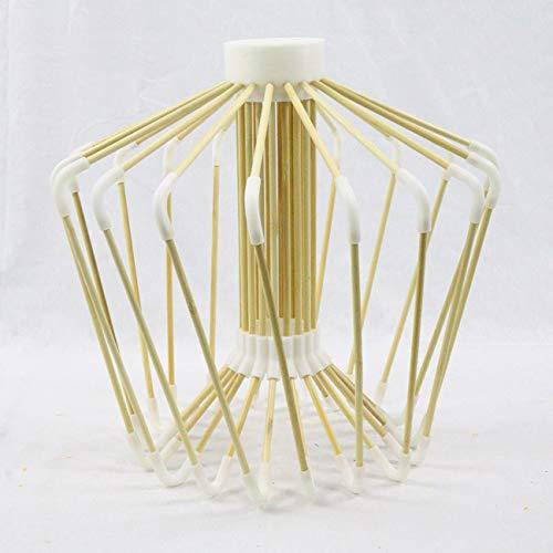 XuanZhuan Lamp 3D Printing Bamboo Lamp - 4 Light Wheat Chandelier