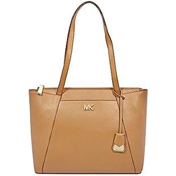 3ac4dc333 Michael Michael Kors Maddie East/West Top Zip Leather Tote: Handbags ...