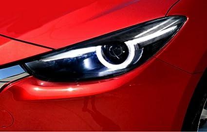 Amazon Com Gowe Mazda 3 Headlights 2017 New Mazda3 Axela Led
