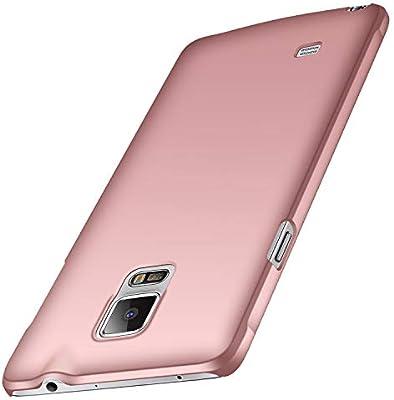 anccer Funda Samsung Galaxy Note 4, Ultra Slim Anti-Rasguño y Resistente Huellas Dactilares Totalmente Protectora Caso de Duro Cover Case para Samsung ...