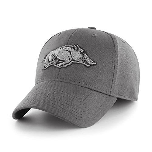 OTS NCAA Arkansas Razorbacks Comer Center Stretch Fit Hat, C