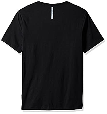 Calvin Klein Jeans Men's Short Sleeve Calvin Outline Crew Neck T-Shirt