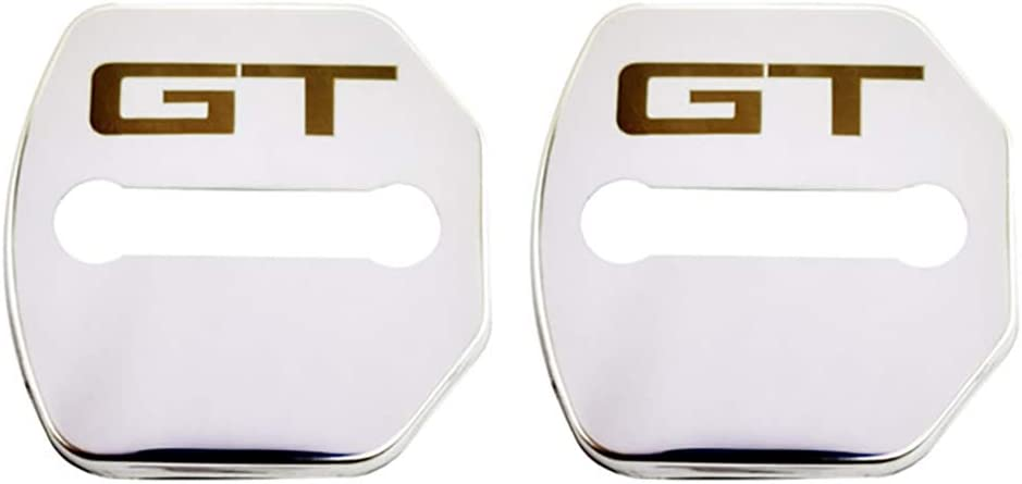 HDWY 4Pcs Car Styling T/ürschlossabdeckung f/ür Ford Mustang GT 2015-2020 Auto Protection Zubeh/ör Door Lock Cover Edelstahl Korrosionsschutz