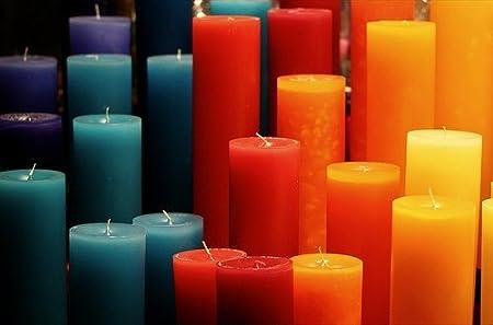 Colorante Candele Per Candela creazioni. 10G Volontà Colore 1Kg Di Cera - Giallo Randall' s Candles