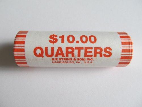 (2009 P District of Columbia Unopened Quarter Bank Roll D.C. Territories Philadelphia Mint)