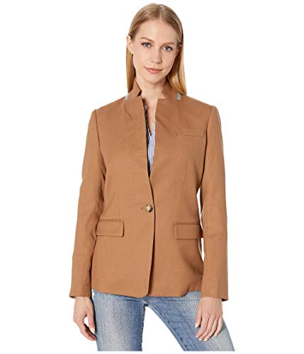 J.Crew Women's Regent Blazer in Wool Flannel Warm Camel 6