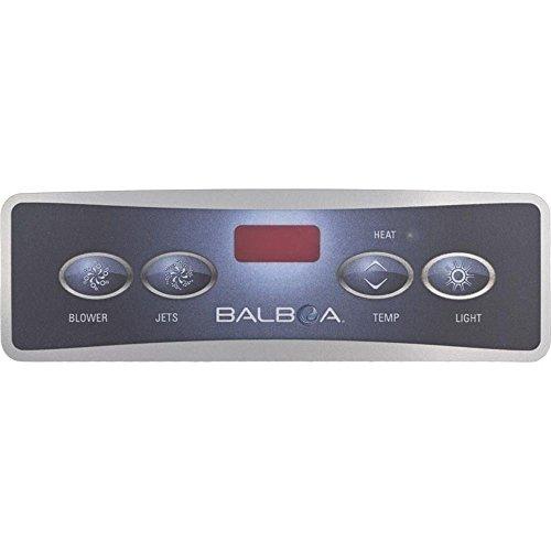 Balboa Lite Duplex Digital Panel - Balboa 10671 Lite Duplex Digital Jet/Blower/Light Spa Panel Overlay