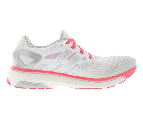Adidas Impulso De Energía Zapatos Corrientes De Las Mujeres Blanco / Plata / Cáscara Roja Compre compras baratas en línea Ordene en línea barato kwdE0