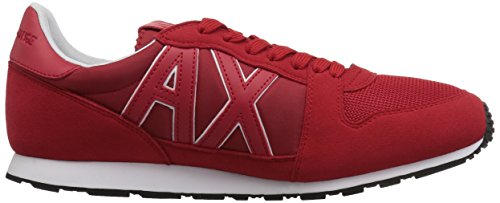 Exchange Running A Retro Men Absolute Red Fashion Armani Sneaker X OwwvpE