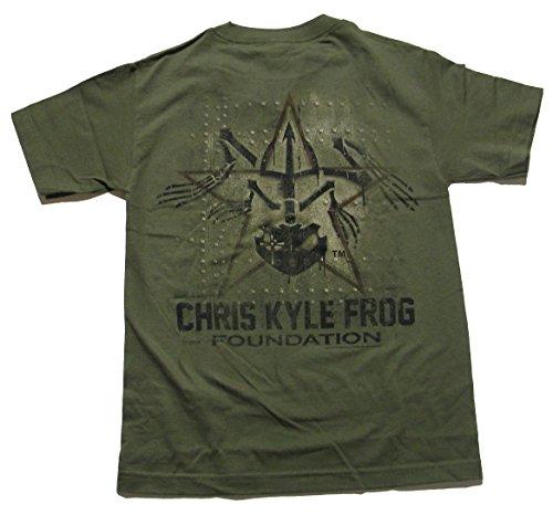 Chris Kyle Frog American Sniper Military Panel Mens T-shirt
