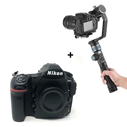 D850 DSLR Camera Body with KamKorda Professional 3-Axis Handheld DSLR Camera Gimbal Stabiliser + 2 Year Warranty