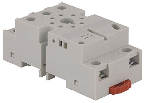 - Relay Socket, Standard, Octal, 8 Pin, 16A