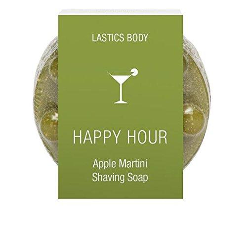 Lastics Body Happy Hour Apple Martini 3-in-1 Shave - Wash - Massage Shaving Soap - Happy Hour Invite