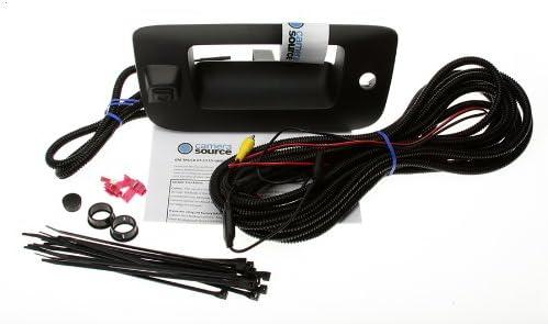 Camera Source CS-GMTRb Chevy Silverado//GMC Sierra Backup Camera for Universal Monitors RCA