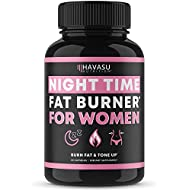 Havasu Nutrition Night Time Fat Burner for Women | Sleep Aid, Appetite Suppressant, and Metabolism Booster | Healthier Weight Loss | 60 Vegetarian Weight Loss Pills for Women