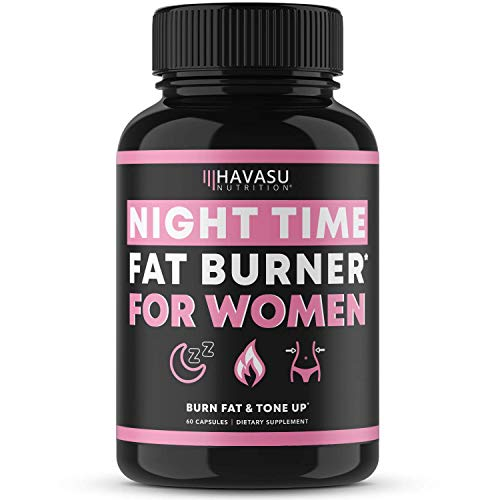 Havasu Nutrition Night Time Fat Burner for Women | Sleep Aid, Appetite Suppressant, and Metabolism Booster for Detox…
