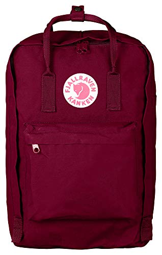 "Fjallraven - Kanken Laptop 17"" Backpack for Everyday, Plum"