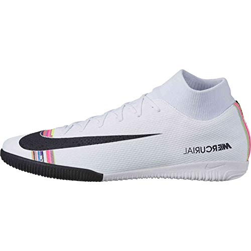 Nike SuperflyX 6 Academy LVL UP IC Soccer Shoes (White/Multi-Color) (Men's 7.5/Women's 9)
