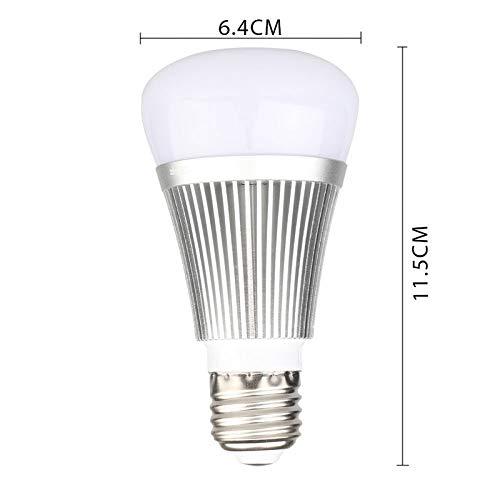 drahtloser Bluetooth-Steuerschalter Intelligente WIFI LED-Gl/ühlampe Abstand bet/ätigen energiesparendes kreatives Design Dimmer-ver/änderbare Farbe