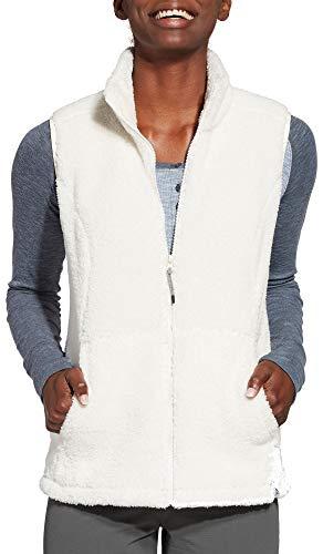 Alpine Design Women's Sherpa Vest (XS, Gardenia)