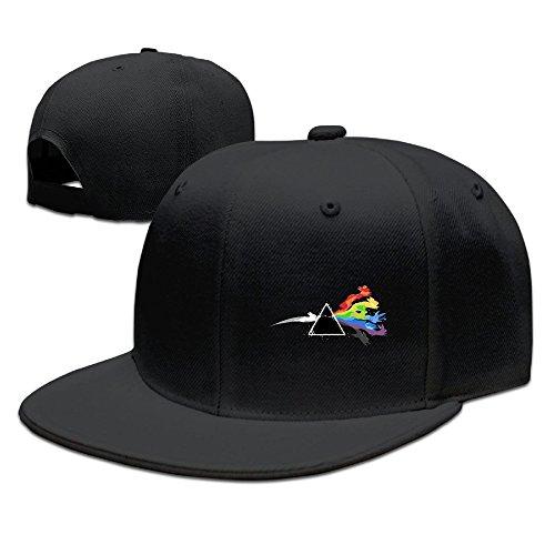 (POY-SAIN Pink Floyd Eevee Evolution Hip Hop Cap Hat For Adult)