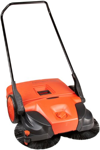 "Haaga 477 Profi-line Deluxe Manual Triple Brush Sweeper, 31"" Width"