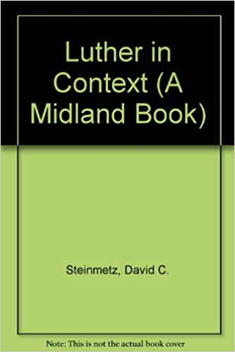Book Luther in Context (A Midland Book)