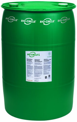 Walter 55A008 Bio-Circle L Industrial Parts Cleaner and Degreaser, 55 gallon drum by Bio-Circle