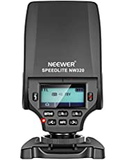 Neewer NW320 TTL LCD Display Flash Speedlite for Sony a9 a7III a7RIII a7II a7RII a7SII a7 a7R a7S a6500 a6300 a6000 a77II RX10II/III/IV Cameras with Hard Diffuser