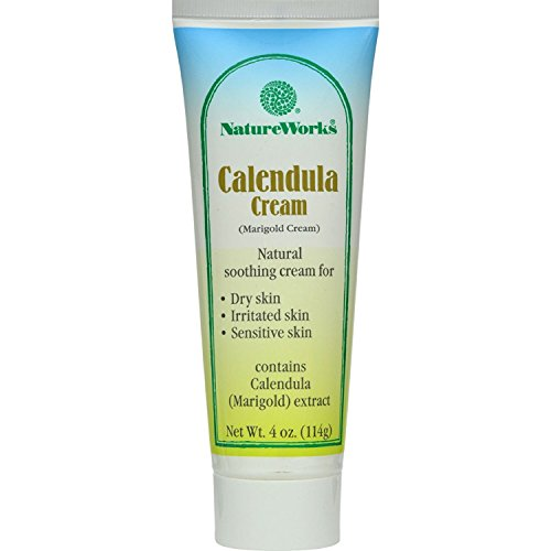 - NatureWorks Calendula Cream (Marigold) 4 Ounces (2 Pack)