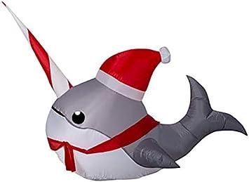 Amazon.com: Holiday Living - Peluche hinchable de Navidad (3 ...