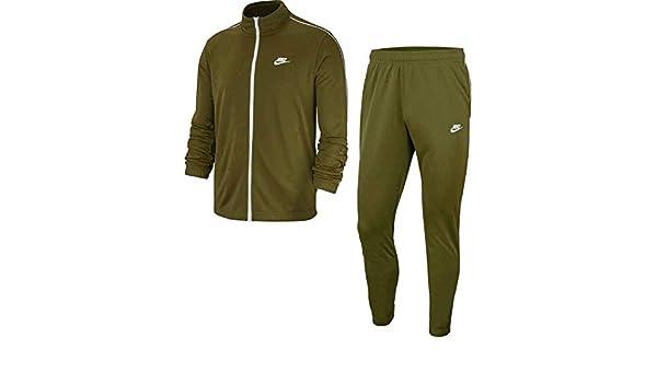 Nike Chándal Sportswear Verde S (Small): Amazon.es: Ropa y accesorios